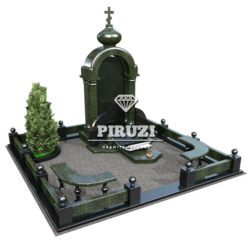 меморіальні комплекси з граніту на могилу